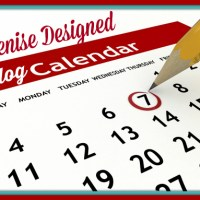 Updated Blog Calendar