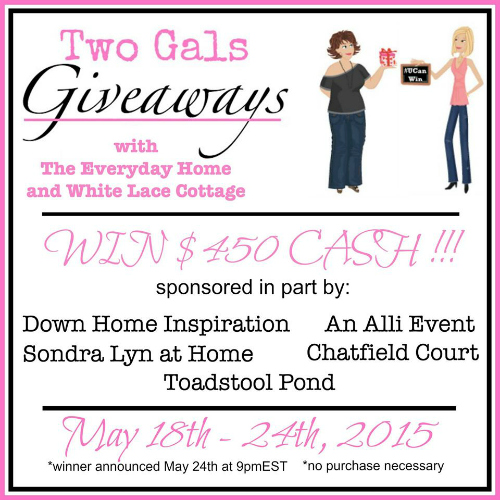 two gals giveaway 500
