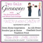 two gals giveaway 500 150x150 Last Day to Enter Two Giveaways