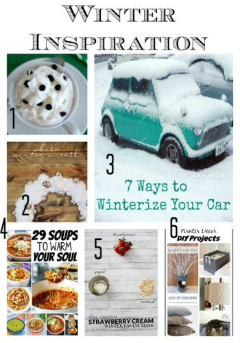 Winter Inspiration at Sunday Features {60}