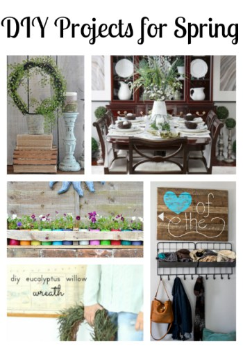Fun DIY Projects for Spring at Sunday Features {72}