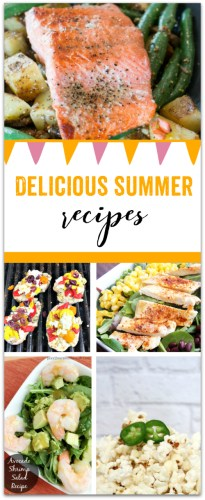Some Good Delicious Summer Recipes at Sunday Features {85}