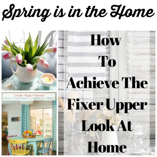 Spring is in the Home at Sunday Features {123}