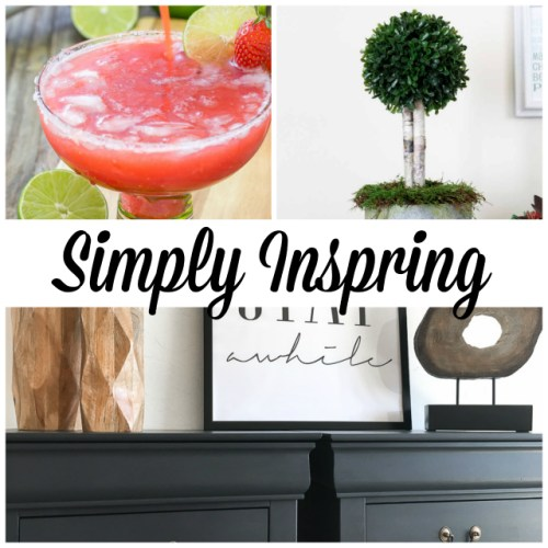 Simply Inspiring at Sunday Features {128}