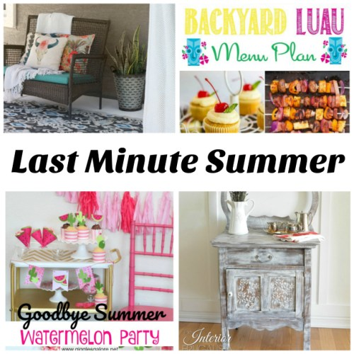 Last Minute Summer Inspiration at Sunday Features {138}