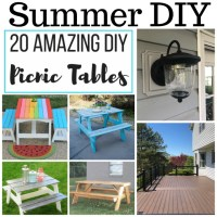 Summer DIY Projects at Sunday Features {180}