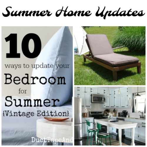 Summer Home Updates at Sunday Features {182}