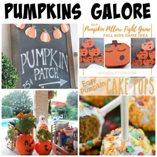 Pumpkins Galore at Sunday Features {191}