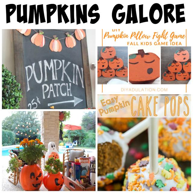 pumpkins galore