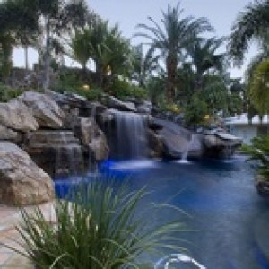 landscape pool