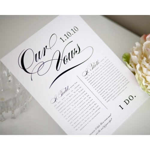 Medium Crop Of Romantic Wedding Vows