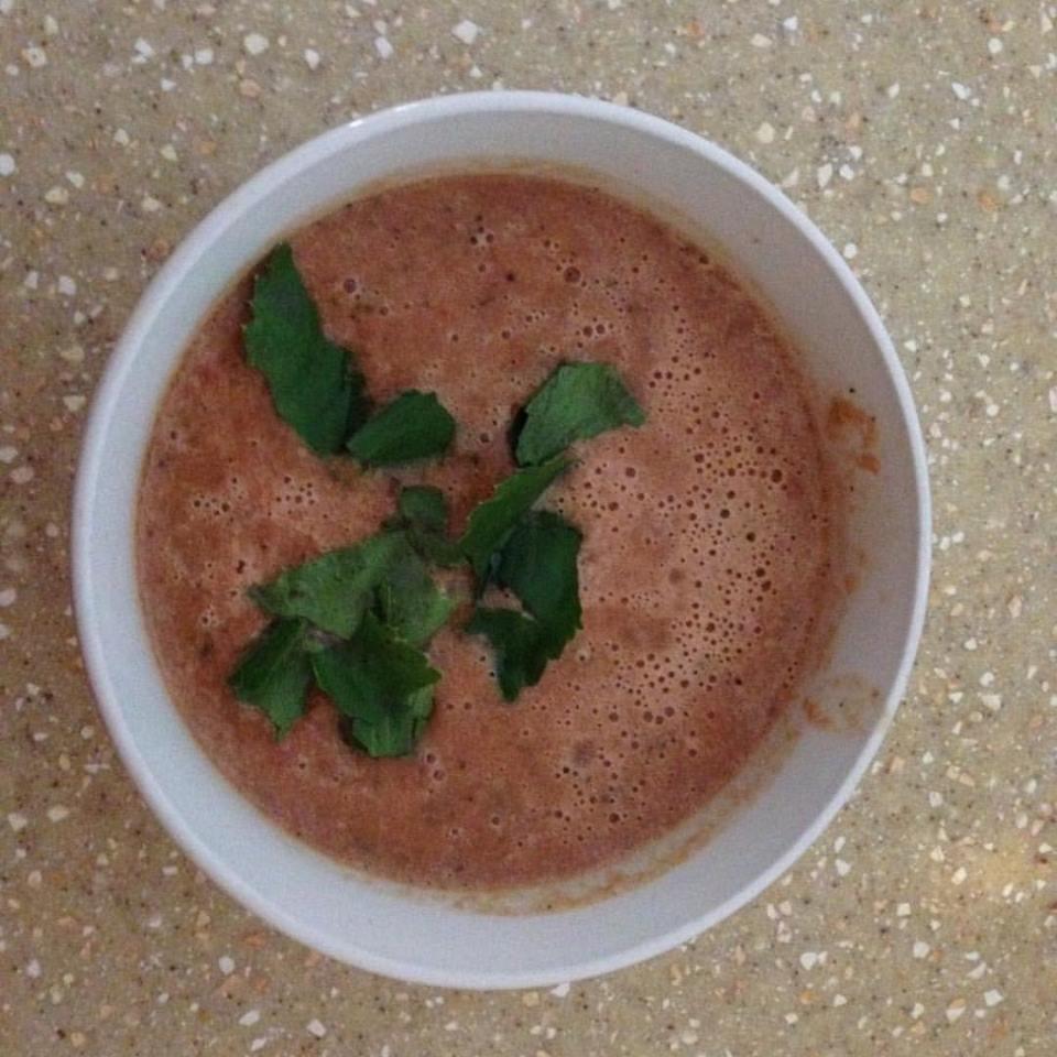 Crockpot Creamy Tomato Basil Soup
