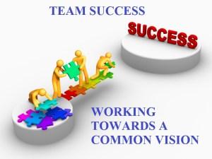 team success - common vision