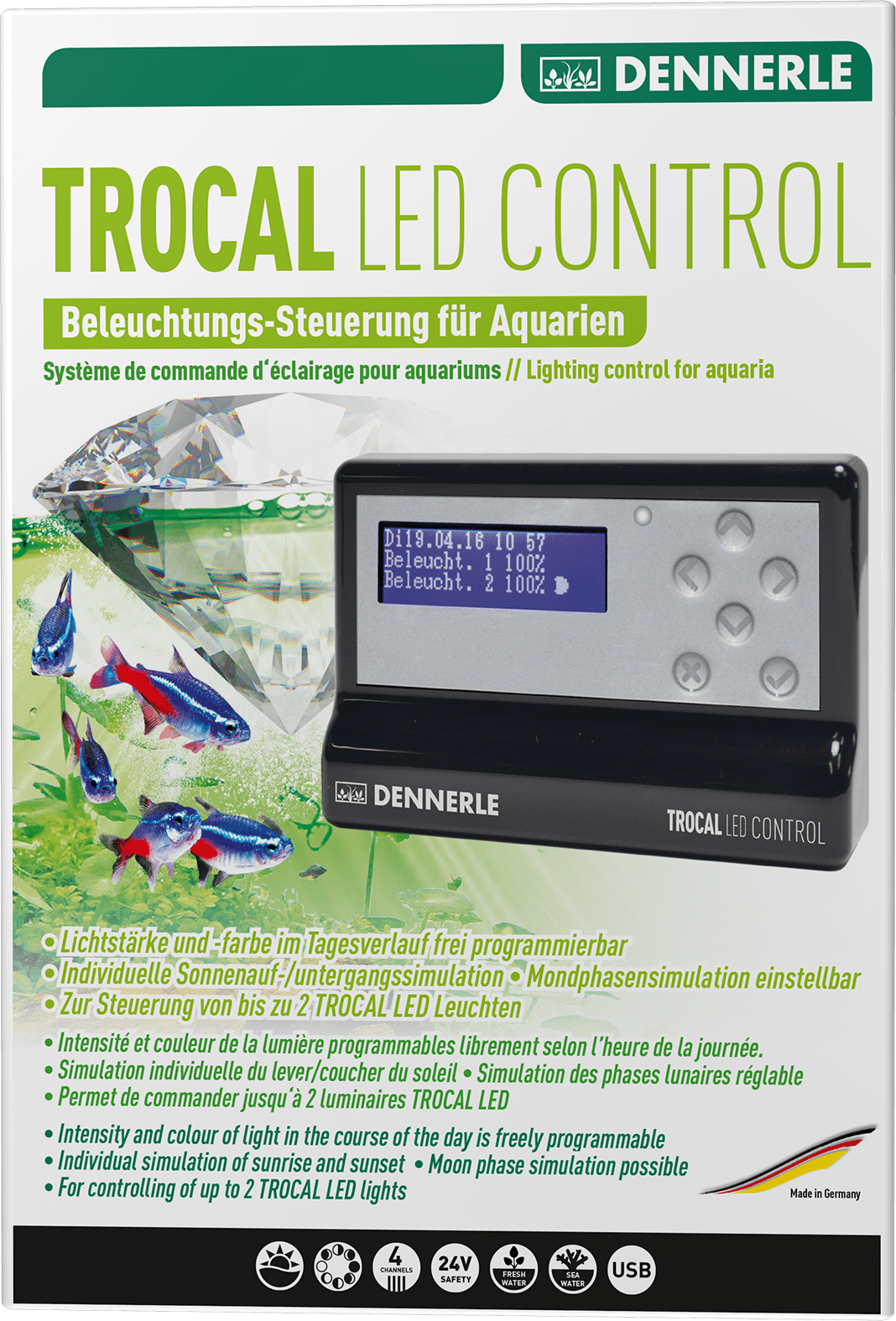 Eclairage Led Dennerle Trocal Led Control Dennerle
