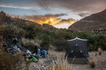 wild-camp-at-sunset