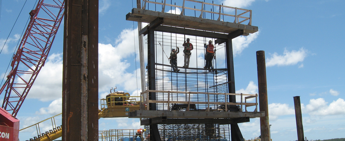 Mcteer Bridge Construction