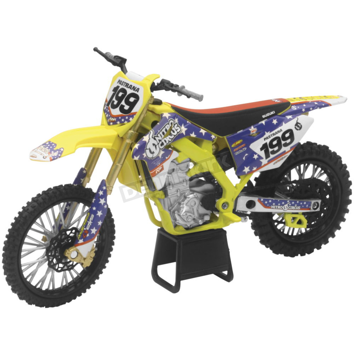 Motocross Garage Accessories New Ray Toys Travis Pastrana Dirt Bike 1 12 Scale Die Cast Model 57993