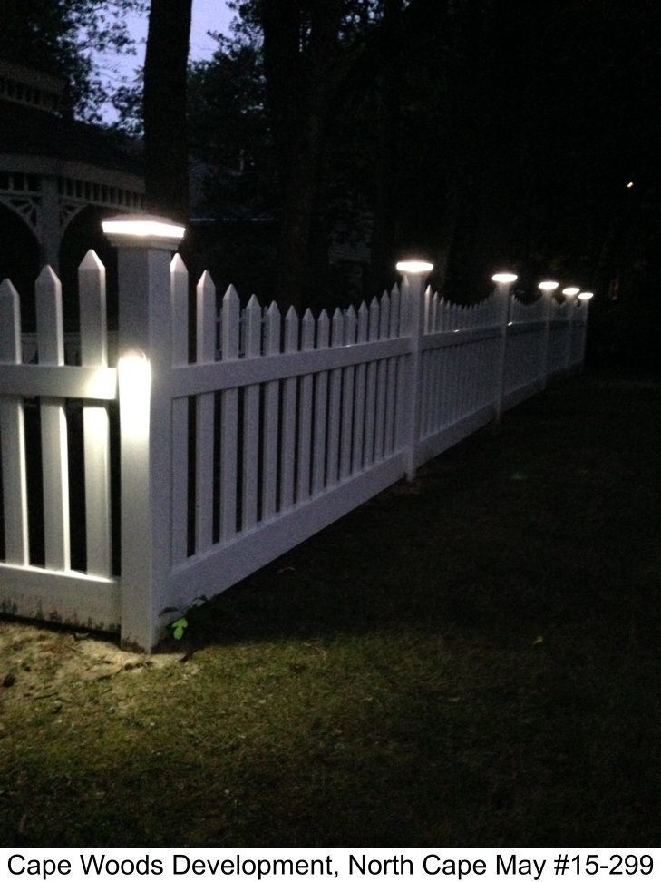 Low Voltage Lighting Outdoor Low-voltage Lighting Photo Gallery | Dennisville Fence