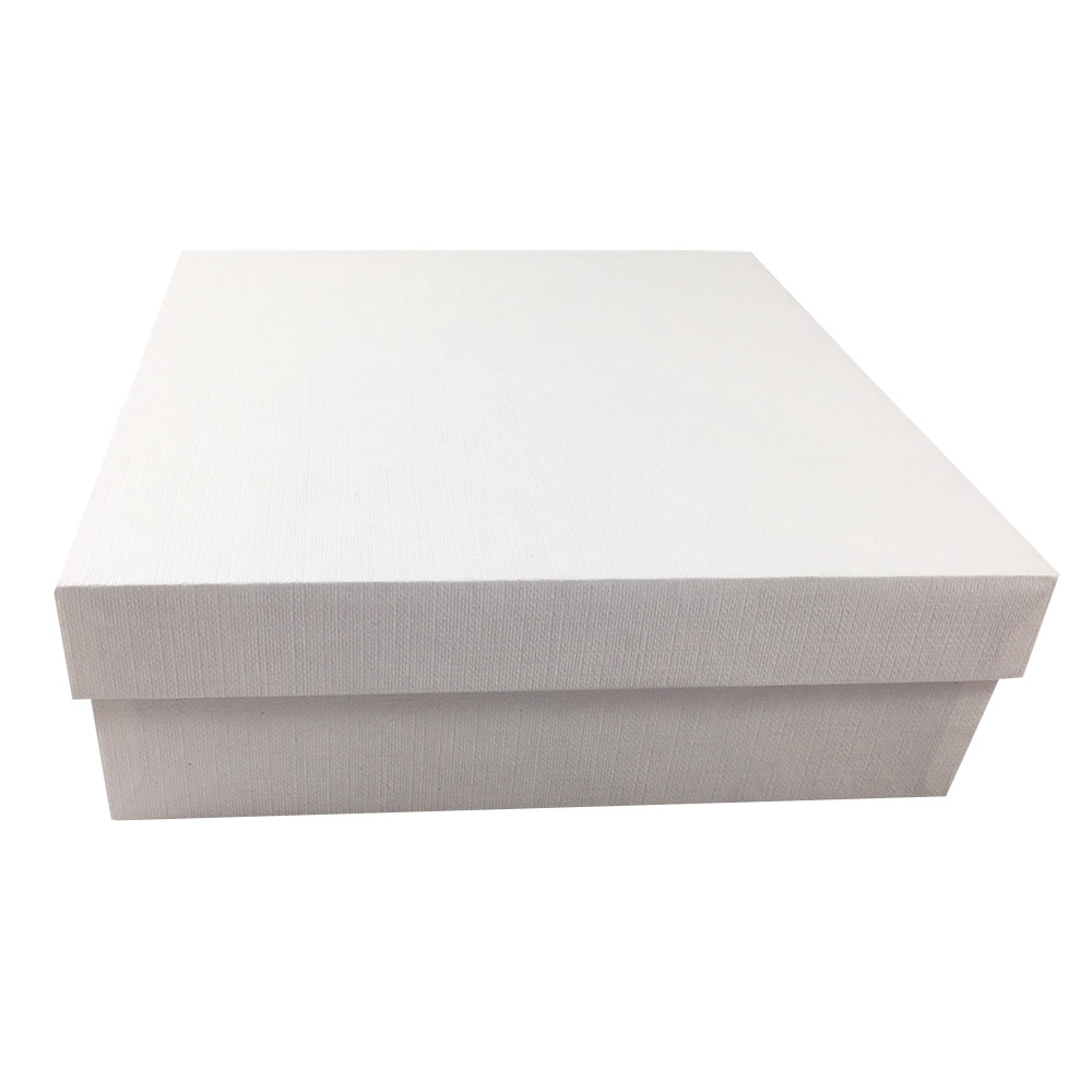 White Mailing Box With Strong Cardboard Handmade Quality