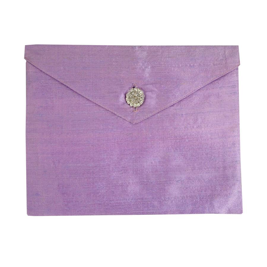lavender dupioni silk invitation envelope the luxury wedding envelope for your invitation cards wedding invitation envelopes Luxury wedding invitation envelopes
