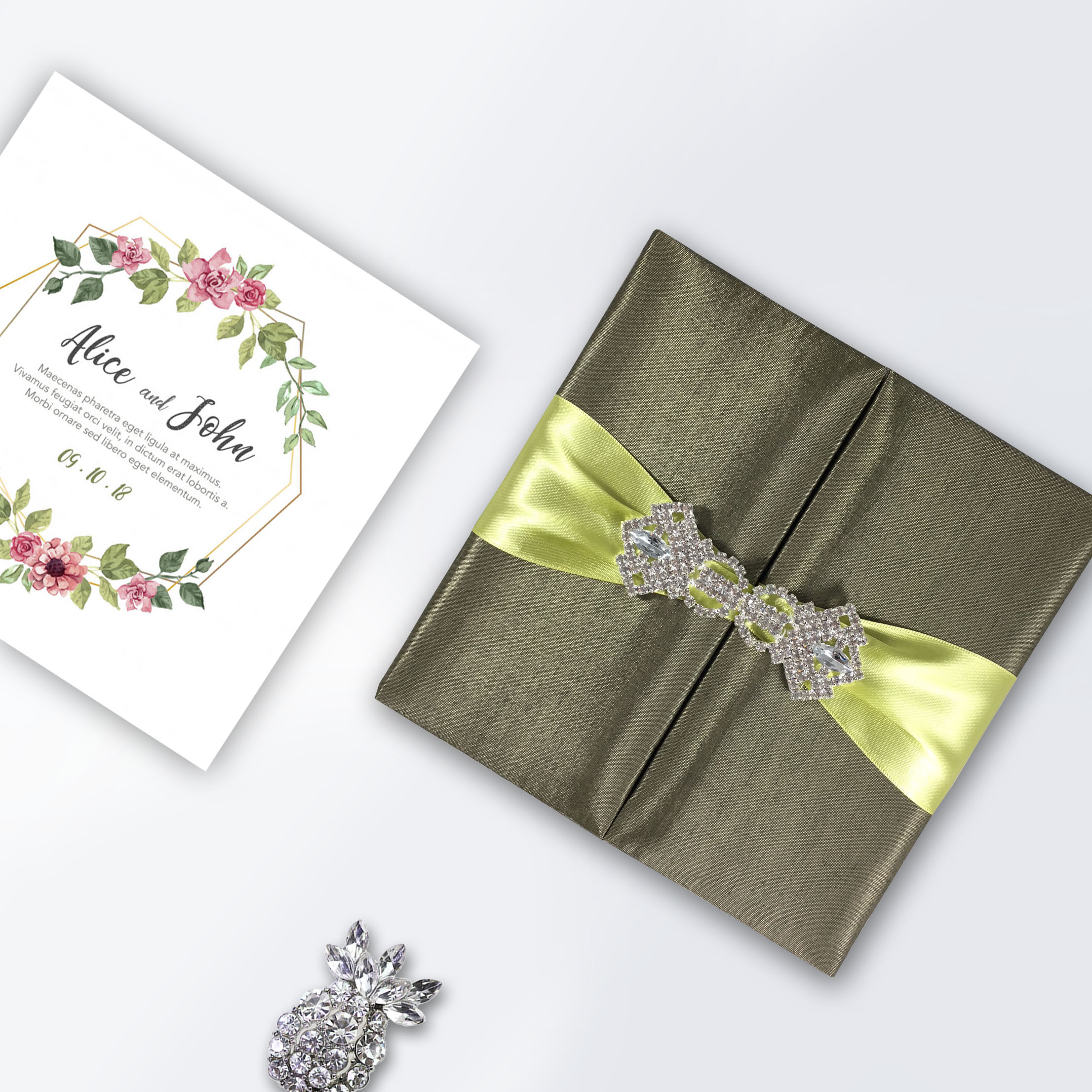Deliver Your Announcements Invitations In This Luxury