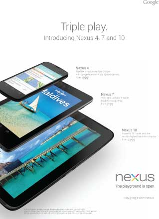 Google Nexus Triple Play