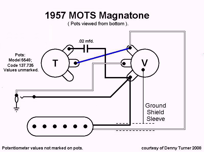 volume tone wiring diagram for