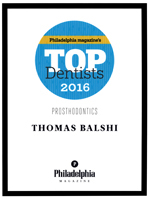 Philadelphia Magazine's Top Dentist's 2016