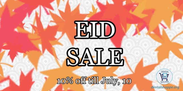 Eid sale on dental equipment
