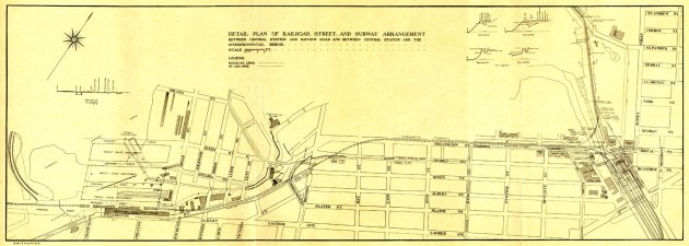 1915 - Proposed Ottawa subway line