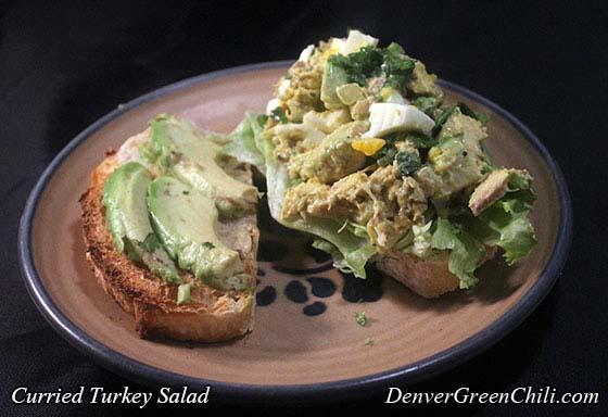 Curried Turkey Salad - Denver Green Chili