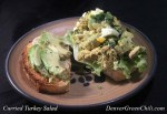 Curried Turkey Salad with Avocado