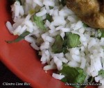 Lime Cilantro Rice