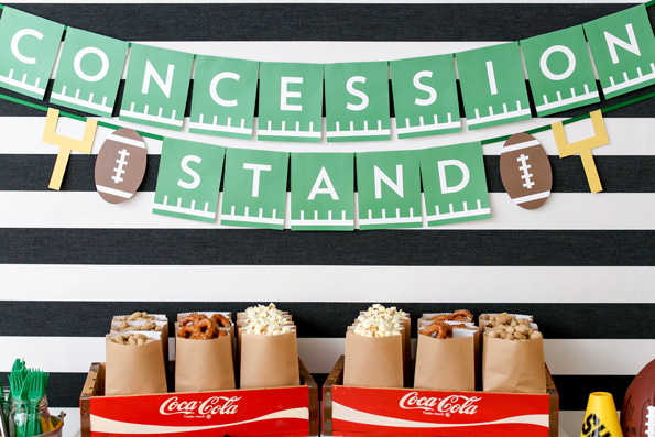 Football Concession Stand Decoration
