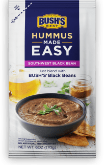 Southwest Black Bean Hummus Made Easy