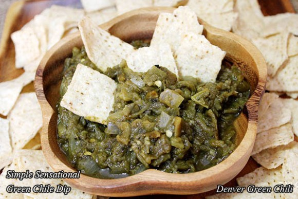 Classic Green Chile Sauce or Dip