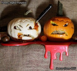 Stuffed Jack-o-Lanterns