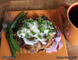 Green Chile Kotlets