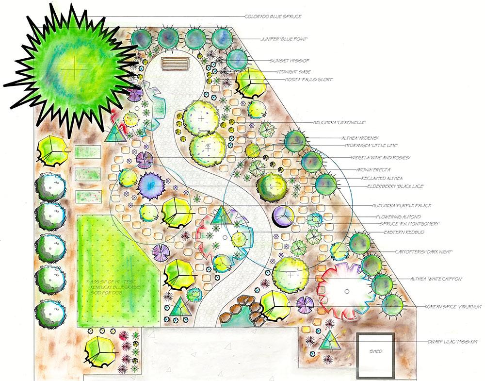Denver Landscapes Design Process
