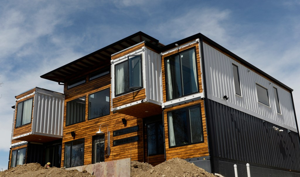 Container Haus London 4,000 Square Foot Colorado Shipping Container House [photos]