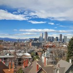 Downtown Denver from 13th & Race – My Denver View