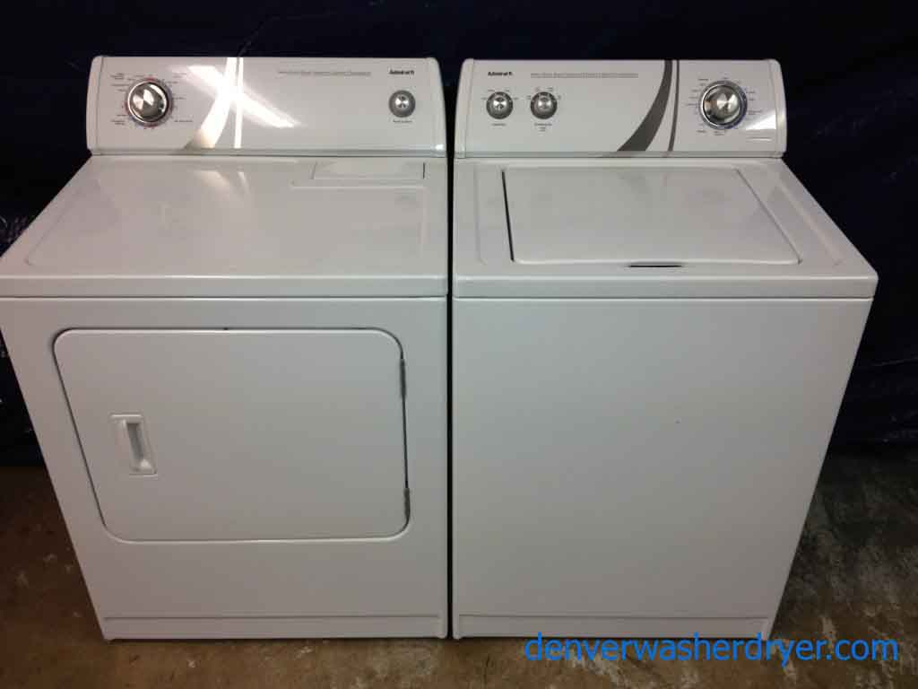 New Washer And Dryer Large Images For Almost New Admiral Washer Dryer Great Units 904