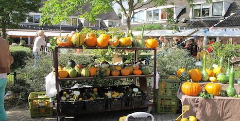 Pompoenenmarkt Noordwijk De Oude Dorpskern Noordwijk
