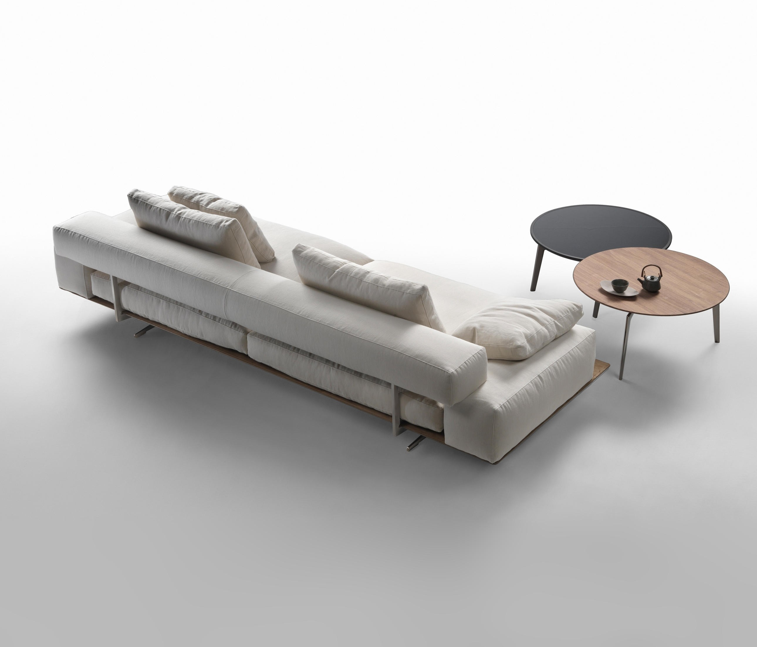 Sofa Helpdesk Flexform Wing Sofa Deplain