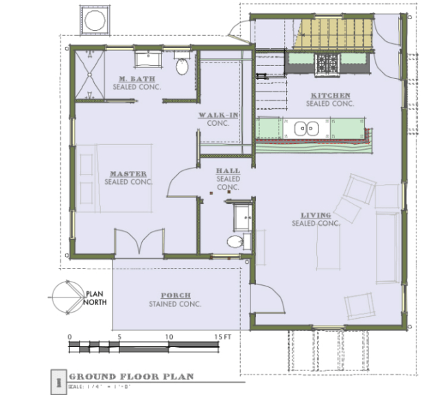 Casa de 2 pisos 3 habitaciones y 140 metros cuadrados - Casas de planta baja ...