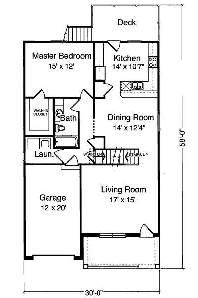 Pisos Para Baño Easy:Casa de 2 pisos, 3 habitaciones y 160 metros cuadrados Planos de Casas