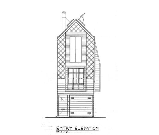 Casa de 3 pisos, 1 dormitorio y 37 metros cuadrados