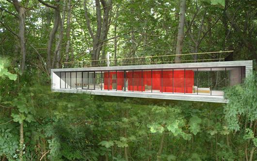 Moderna casa de campo de 2 dormitorios y 158 metros cuadrado