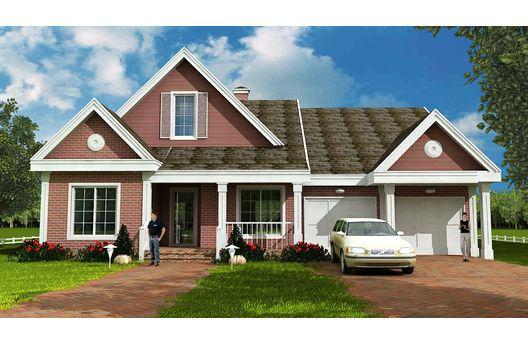 Ver dise os modernos de casas planos de casas gratis for Viviendas de una planta modernas