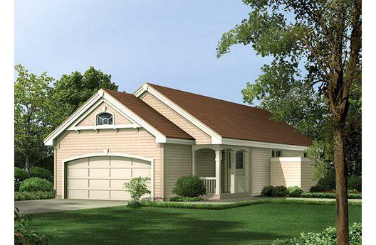 Casa suburbana de una planta tres dormitorios y 91 metros for Casa de una planta sencilla